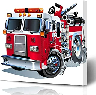 Best firefighter canvas painting Reviews