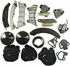 Timing Chain Kit For Cadillac CTS SRX STS Buick Allure Enclave LaCrosse Saab Suzuki 2.8L 3.0L 3.6L DOHC 24V