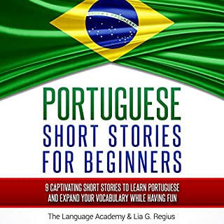 Portuguese: Short Stories for Beginners cover art