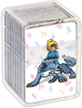 Etchimp NFC Tag Game Cards for the Legend of Zelda Breath of the Wild,22pcs Botw Cards with Crystal Case Compatible with Nintendo Switch/Wii U