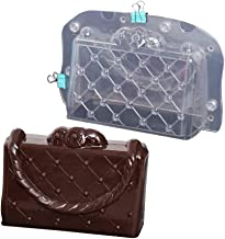 3D Cake Lady Handbag Chocolate Mold Plastic Polycarbonate Lady's Bag Jelly Candy Making Mold (Lady's Bag)