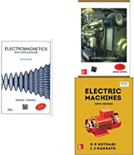 Electromagnetics With Appl 5E + Electric Machinery Fund.4E + Electric Machines Combo