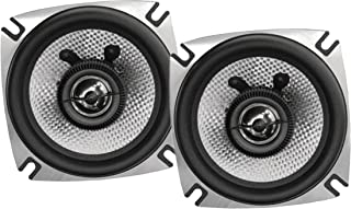 Earthquake Sound VTEK-52 400W 5.25-inch 2-Way Coaxial Speakers with PistonMax Technology (Pair)