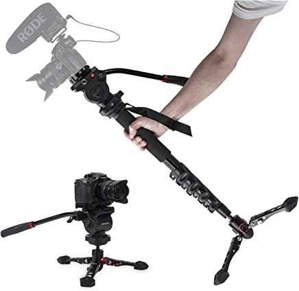 "ASHANKS Camera Monopod 65""Professional Video Monopod with..."