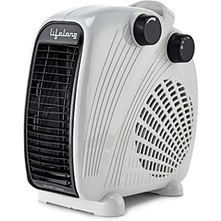 Lifelong LLFH02 Flare-X 2000 Watt Fan Room Heater, White (ISI Certified, Home Service Available)