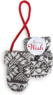 DEMDACO The Christmas Wish Knit Mittens Ornament