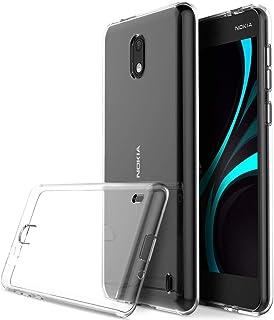 KuGi Nokia 2.1، غطاء خلفي من السيليكون الناعم لنوكيا 2.1، شفاف