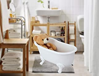 "Wayime 33"" Luxury Acrylic Clawfoot Bathtub Special for Your Baby or Pet"