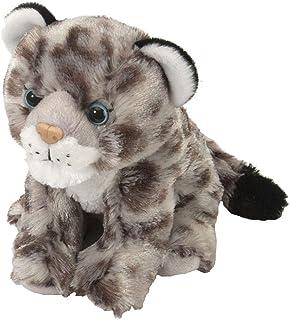 Wild Republic Snow Leopard Plush, Stuffed Animal, Plush Toy, Gifts for Kids, Cuddlekins 8 Inches