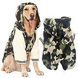 MCdream Ropa para mascotas, perros, sudadera con capucha para mascotas,...