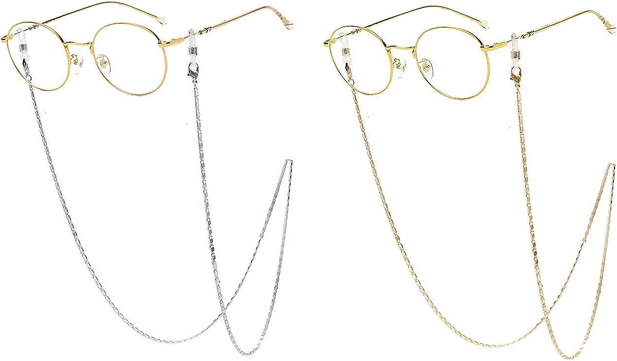 Glasses Chain Mask Holder Chain Pack for Women Men Girls