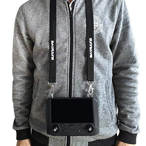 Linghuang Regolabile Neck Strap Sling Belt Lanyard Necklaces Compatibile con DJI Mavic 2 PRO e Zoom Drone Smart Controller- con Vite in Lega di Alluminio