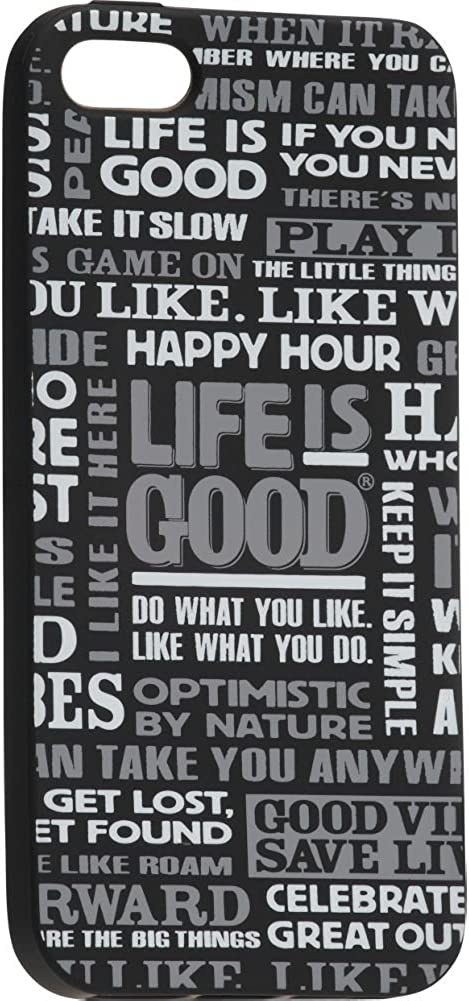 Life is good All LIG Smart Phone Cover Night Black