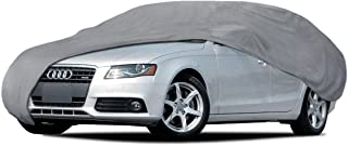 BDKUSA Car Cover for Audi A4 91-14 Waterproof Sun UV Proof Breathable Multi Layers