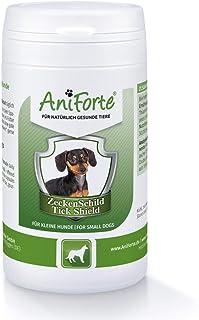 AniForte Zeckenschild für Hunde klein bis 10 kg 60 Kapseln - Ergänzungsfuttermittel für die natürliche Hautbarriere