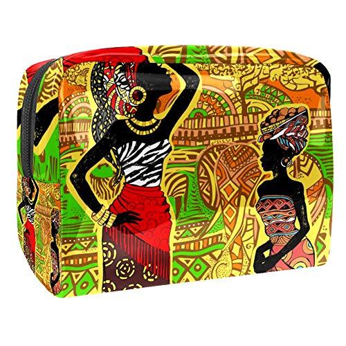 Trousse de maquillage multifonction pour femmes africaines ethniques