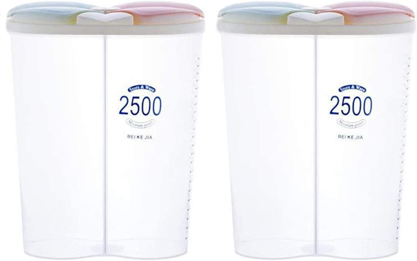 YFGHFHG Plastic Max 52% OFF Cereal Dispenser Cereals Container Sep Storage Max 43% OFF
