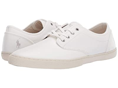 Polo Ralph Lauren Ethan Lace (White Smooth Calf) Men