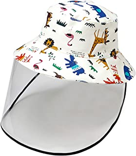 Kids Boy Girl Bucket Hat Sun Protection Hats Breathable...