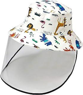 Kids Boy Girl Bucket Hat Sun Protection Hats Breathable...