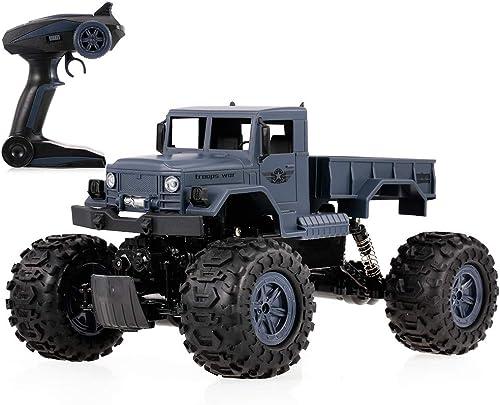 punto de venta de la marca Goolsky ZEGAN ZG-C1231W 1 12 12 12 2.4G 4WD RTR RC Military Coche Anfibio Impermeable Desert Rock Crawler para Niños  distribución global