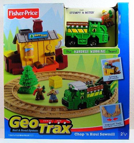 GeoTrax Fisher Price Chop 'n Haul Sawmill