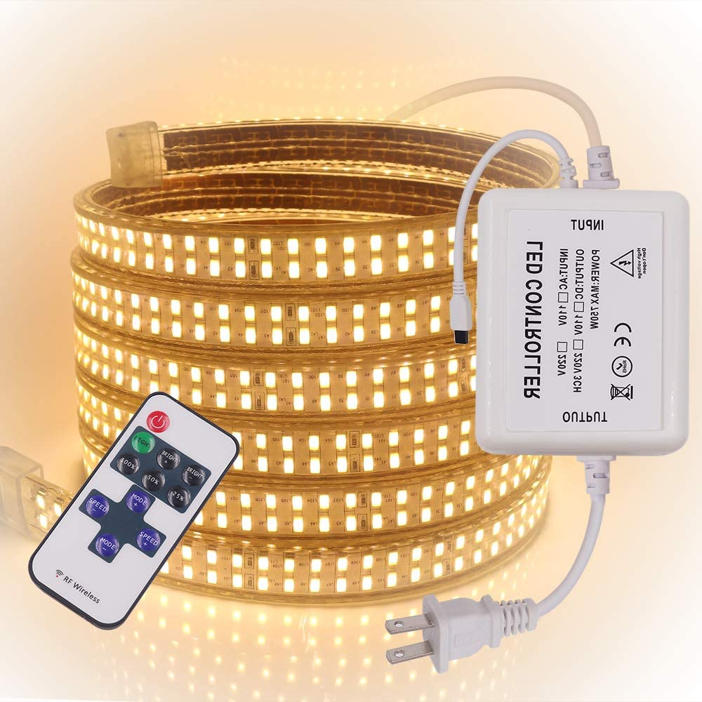 XUNATA High quality new LED Strip Lights AC Rope with R 110-130V Max 87% OFF Dimmable
