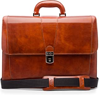 Bosca Mens Variation_Parent Old Leather Collection - Double Gusset Briefcase