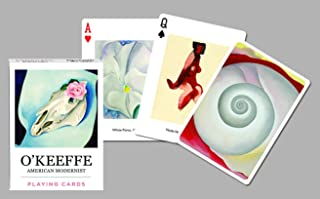 Piatnik Playing Cards - Single Deck - Georgia O'Keeffe Art
