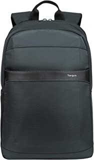 Targus GeoLite Plus Travel and Commuter Business Casual Backpack with Protective Sleeve fit up to 12-15.6-Inch Laptop, Black (TSB96101GL)