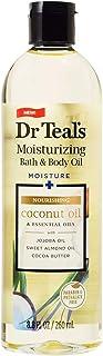 Dr Teal's Coconut Bath Oil & Essential Oils 8.8 Fluid Ounce
