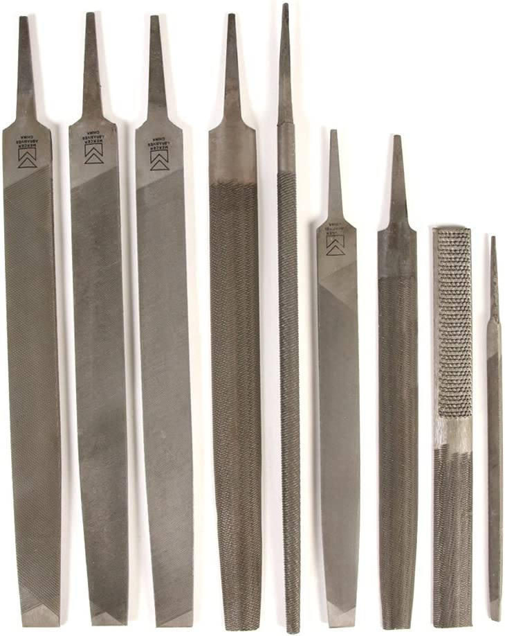 Mercer Industries BFS910 Maintenance Direct sale of manufacturer File 9 Cheap mail order sales Set Tools with