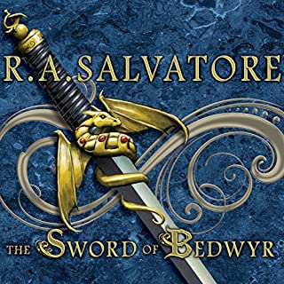 The Sword of Bedwyr     The Crimson Shadow              By:                                                                                                                                 R. A. Salvatore                               Narrated by:                                                                                                                                 David Drummond                      Length: 9 hrs and 24 mins     124 ratings     Overall 4.3