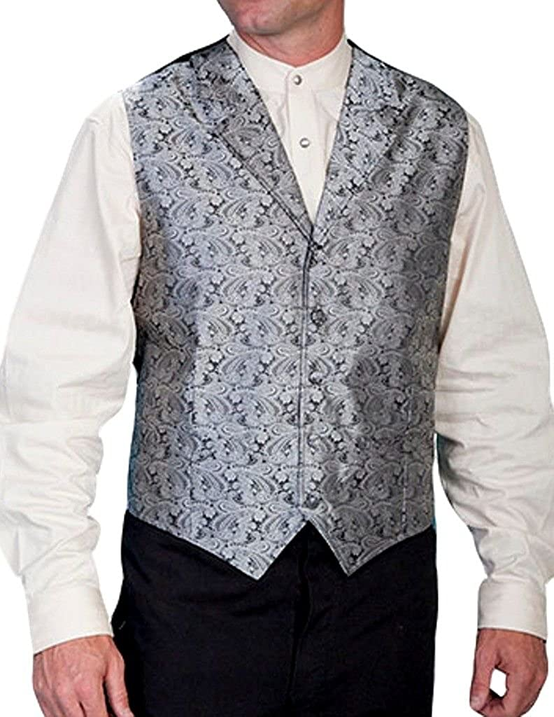 Scully Rangewear Men's Rangewear Paisley Print Vest Big and Tall