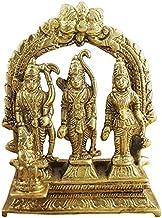 Ram Darbar Statue/Idol - Lord Rama Laxman and Sita Religious Indian Art Statue/Idol (lxbxh - 3.0 X 1.0 X 3.2 Inches)