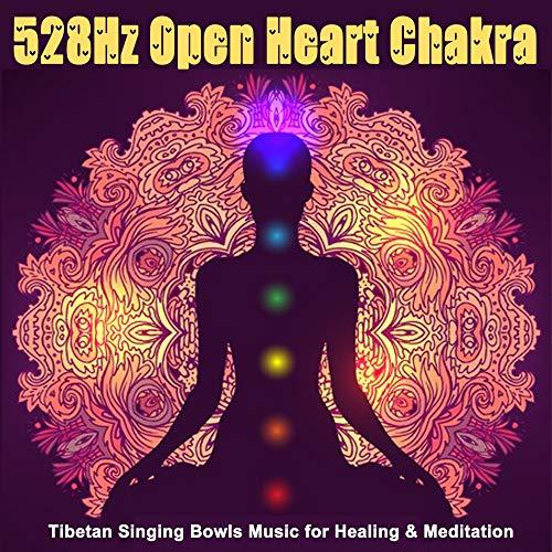 528Hz Open Heart Chakra (Tibetan Singing Bowls Music for Healing & Meditation)