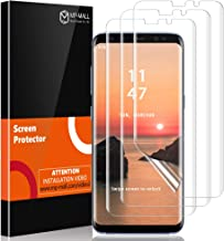 MP-MALL [3-Pack] Screen Protector for Samsung Galaxy S8 Plus, [Self Healing] [Flexible Film] HD Clear with Lifetime Replacement Warranty