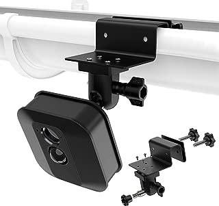 """EEEKit Gutter Mount Compatible for Blink XT, Adjustable 1/4"""" Screw Blink XT Camera Bird Housing Bracket Rain Inside Gutter,1 Pack, Black"""