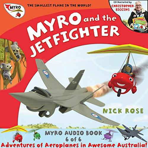 Myro and the Jet Fighter audiobook cover art