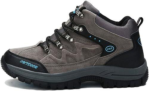 Chaussures De Montagne pour Hommes Chaussures De Randonnée De Haute Qualité Baskets d'escalade Imperméables Antidérapantes