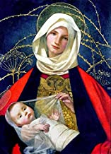 Wall Art Print Entitled Madonna and Child by Marianne Stokes by Celestial Images | 7 x 10