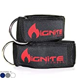 Neoprene Ankle Straps By Ignite Fitness (2 Pk), Intensify Your Machine Cable...