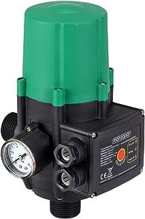 Bomba de presión de agua con indicador de presión | presión Bar | Interuptor | sin cable | interuptor automático | Medidas: 22-5 x 14- 5 x 12 cm |
