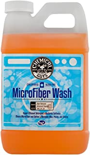 Chemical Guys CWS_201 orange Microfiber Wash (64 oz), 64. Fluid_Ounces