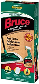 Bruce CKS01 Hardwood & Laminate Cleaning System Kit (with Terry Cloth Mop Cover) by