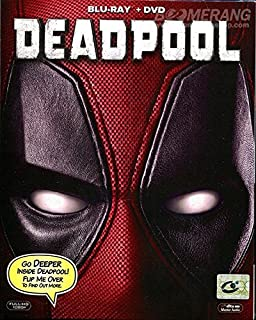 Deadpool (Blu-ray+DVD Combo) Brand New Factory Sealed