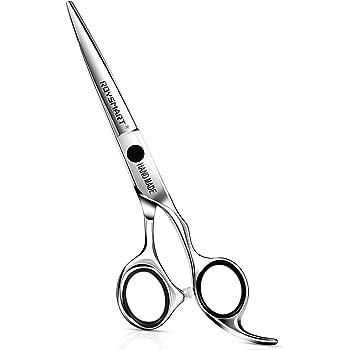 Professional Hair Cuting Shears, Roysmart Hair Cutting Scissors Sharp Razor Edge Hairdressing Scissors Hair Scissors Japanese Stainless Steel 6.5 inch for Barber, Home, Salon