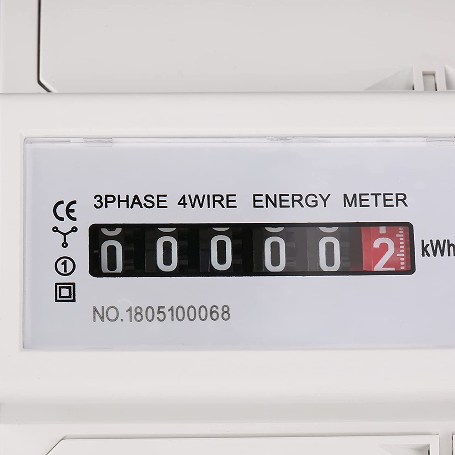 Uxsiya Digital Today's only DIN Rail OFFer Electric Meter KWh Me Instructions 5 LED