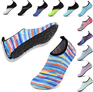 Womens Mens Water Shoes Barefoot Aqua Socks for Outdoor Beach Swim Yoga Exercise