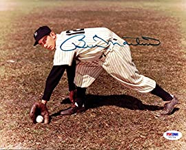 Billy Martin Autographed 8x10 Photo Yankees PSA/DNA #V01704